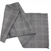 Lochcarron of Scotland Fine Worsted Lightweight Check Scarf