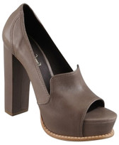 Elizabeth and James Peep Toe Platform