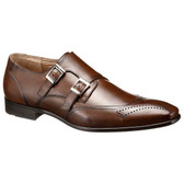 Lloyd 1888 Ryder Double Monkstrap Shoe (Brown)