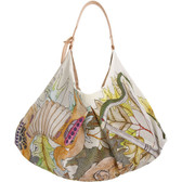 Swash Silk Scarf Leather Bag