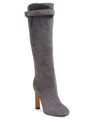 Derek Lam Suede Knee High Boot (Grey)