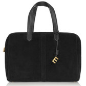 Elizabeth and James Scott Suede Duffle Bag