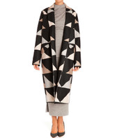 Mara Hoffman Wool Car Coat