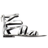 Pierre Balmain Strappy Flat Thong Sandals