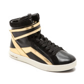Pierre Balmain Leather High Top Sneakers
