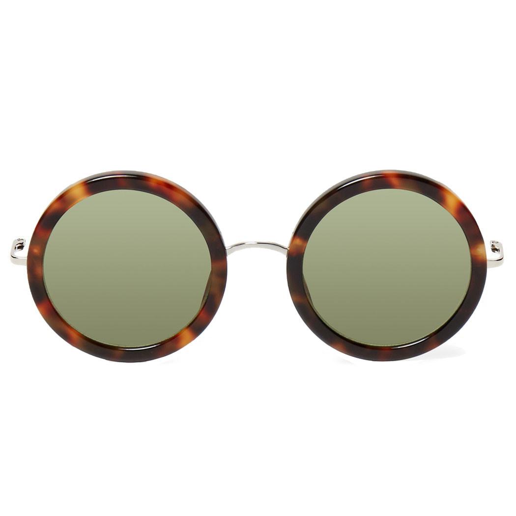 e6b14397481 Linda Farrow X The Row Round Sunglasses