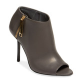 Burberry Peep-Toe Ankle Bootie