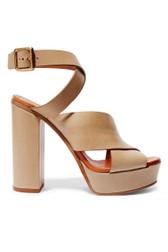 Chloe Crisscross Platform Sandals