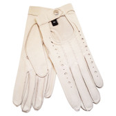 Hilts-Willard Ladies Nappa Driving Gloves (Ivory)