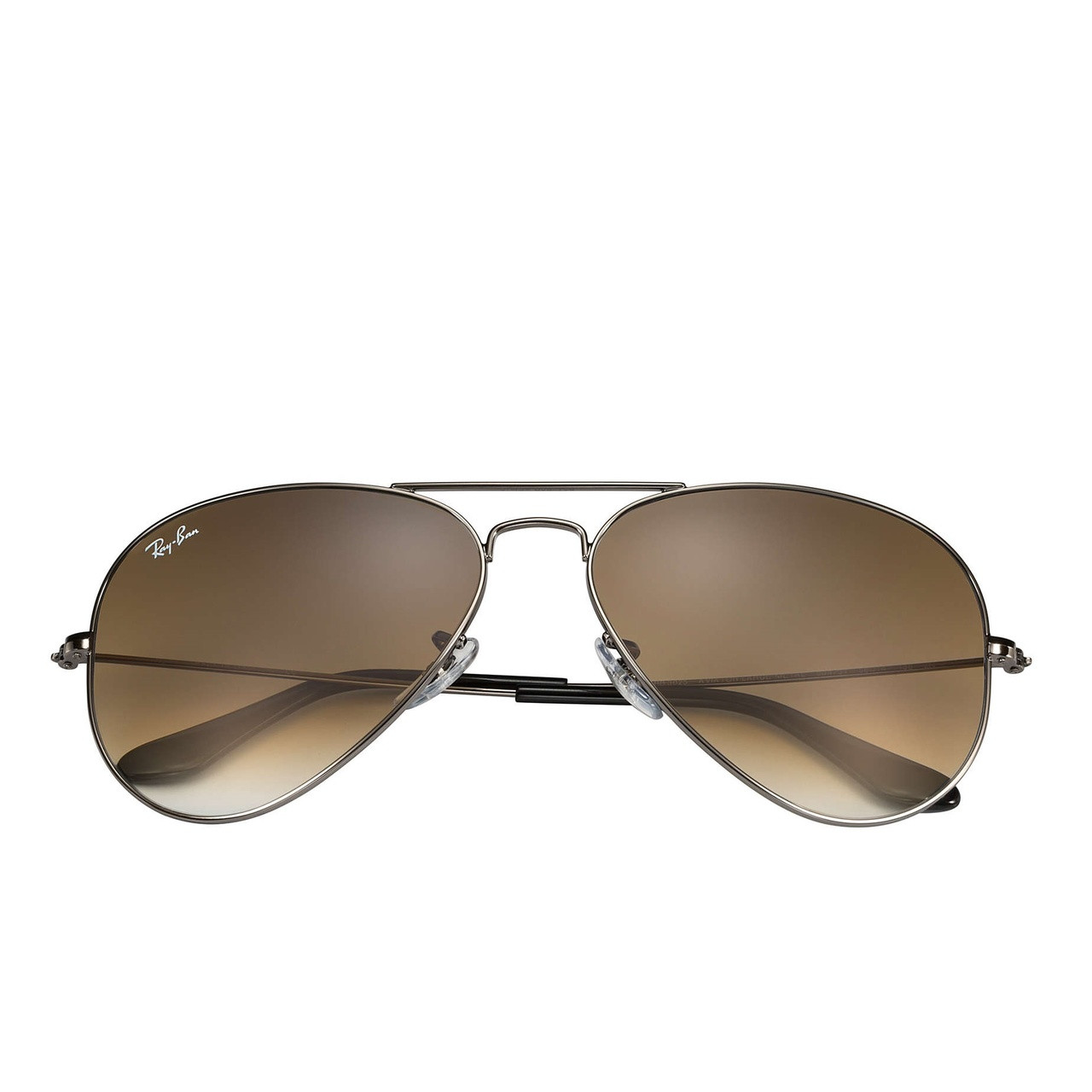 8cb29d6a7e Ray-Ban Classic Aviator Sunglasses (Gunmetal Brown Gradient)