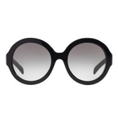 Prada PR06RS Round Sunglasses (Black)