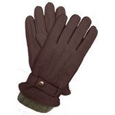 Hilts-Willard Men's Cooper Deerskin Gloves (Brown)