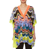 M Missoni Cotton Printed Drawstring Tunic