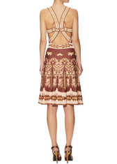 M Missoni Strappy Print Knit Dress