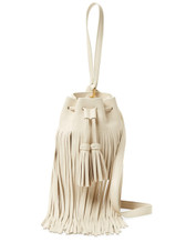 Derek Lam 10 Crosby Mini Crossbody Bucket Bag (White)