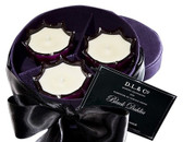 D.L. & Co. Black Dahlia 3-pc Votive Gift Set