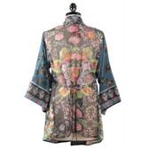 Johnny Was Silk Wrap Kimono