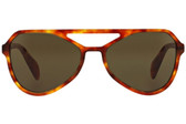 Prada PR22RS Aviator Sunglasses (Light Havana)