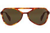 Prada PR22RS Aviator Sunglasses (Light Havana)