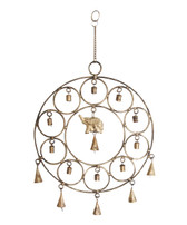 Mira Fair Trade Elephant Metal Wind Chime