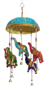 Mira Fair Trade Elephant Baby Crib Mobile