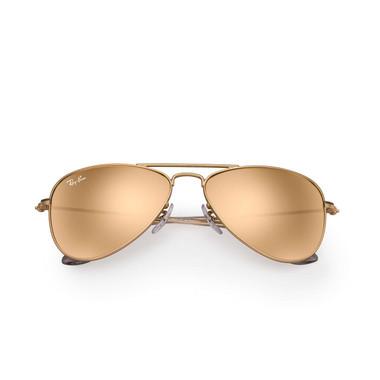 Matte Gold/Copper Flash