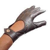 Hilts-Willard Ladies Nappa Driving Gloves (Silver)