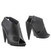 Proenza Schouler Rubberized Leather Stilettos