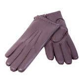 Hilts-Willard Men's Adam Deerskin Gloves (Brown)