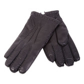 Hilts-Willard Men's Adam Deerskin Gloves (Black)