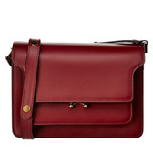 Marni Saddle Leather Shoulder Bag