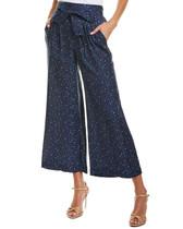 Rebecca Taylor Silk Sash Tie Lounge Pants