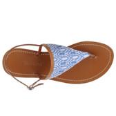 Missoni Thong Sandal Flats (Azure)