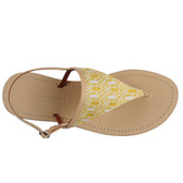 Missoni Thong Sandal Flats (Yellow)