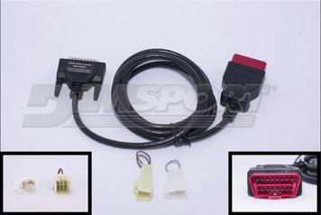 SUBARU: specific OBDII connector