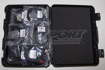 Hard plastic case (K32GNVALC) BMW: diagnostic connector (F32GN012) FIAT/ALFA ROMEO/LANCIA: 3-way diagnostic connector (F32GN023) FERRARI/FIAT (petrol): double wiring for BOSCH ME7 hybrid ECUs (K32GNFAL) MERCEDES: diagnostic connector (F32GN014) MITSUBISHI: specific OBDII connector (F32GN045) PORSCHE: specific OBDII connector for BOSCH M5.2.2 ECUs (F32GN013) SUBARU: specific OBDII connector (F32GN044) TOYOTA/LOTUS: specific OBDII connector (F32GN052) VAG (diesel): ECU connector for BOSCH EDC15 (F32GN015) VOLVO: double CAN OBDII connector (F32GN065)