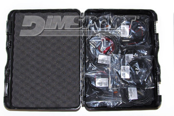 Hard plastic case (K32GNVALB) BMW: specific connector for BMSK Bosch ME9+ ECUs (F32GN046) DUCATI: specific 3 pin diagnostic connector (Marelli ECUs) (F32GN042B) DUCATI: specific 4 pin M3C connector (Siemens/Melco Mitsubishi ECUs) (F32GN048) HARLEY DAVIDSON: 4 pin diagnostic connector (F32GN061) HARLEY DAVIDSON: 6 pin diagnostic connector (F32GN062) KTM: specific 6 pin diagnostic connector (Keihin ECUs) (F32GN054) MV AGUSTA 4 pin diagnostic connector (CAN) (F32GN063) YAMAHA 3 pin diagnostic connector (TMAX T530)