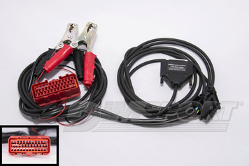 F32GN004  VOLVO TRUCK harness with 8 pin diagnostic connector + LUCAS ECU OBDII connector