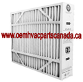 Lennox Merv 10 - 20x26x5 Merv 10 Healthy Climate Air Filter X0587. Case Of 3.