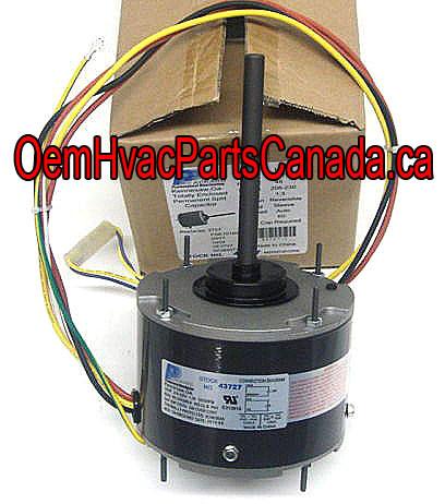 Universal Air Conditioner Condesor Fan Motor FAN MOTOR 1/6 HP 230 Volt  FSE1016SV1 F48AB22A01