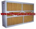 OEM Merv 11 Product Number M0-1056: 15-3/8 x 21-7/8 x 5-1/4 - Singles