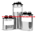 25/5 MFD Dual Run Capacitors MFD Rating 370V Round Design Canada