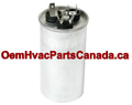 60+3 uf MFD 370/440v Round Dual Run Capacitor Canada Free Shipping