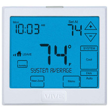 VIVE - TP-S-955WH Wireless Touchscreen Thermostat