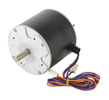 "Condenser Fan Motor. 4.8"" Diameter 1/10 HP, 208-230 Volts, 1 Phase, 1075 RPM"