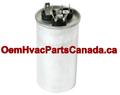 FirstChoice Capacitor Dual Run 45+5 MFD 440 VAC Round