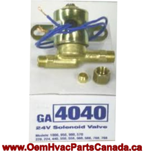 Genuine Replacement GeneralAire Solenoid Valve Part # GA4040