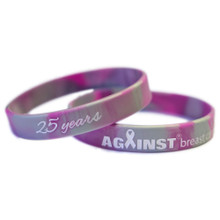 25 Years Against Breast Cancer Wristband