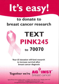Text Donate Poster