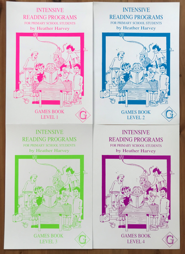 IRP Primary Games Books Package
